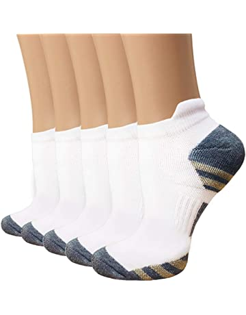 1296a4cccb6 Copper Compression Running Socks for Men   Women – 5 Pairs Copper Infused Ankle  Socks for