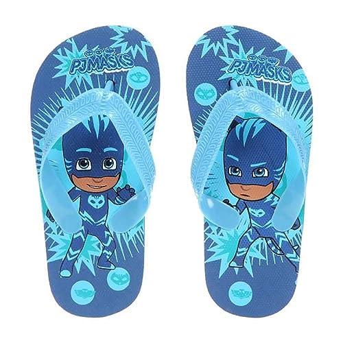 offre spéciale styles frais prix de détail Pyjamasques Tong Enfant Garçon - Bleu - YOYO - 24/25: Amazon ...