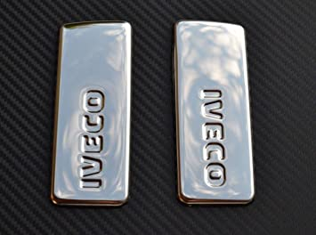 2x Door Handle Decorations Stainless Steel Accessory for DAF XF 106 Euro6 trucks