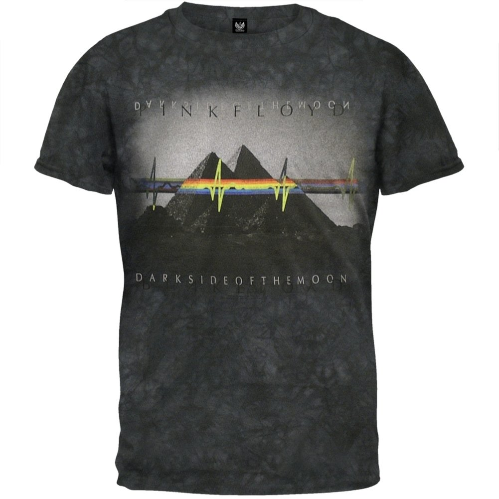 Pink Floyd - Pyramids Tie-Dye T-Shirt - Medium Have To Have It Co
