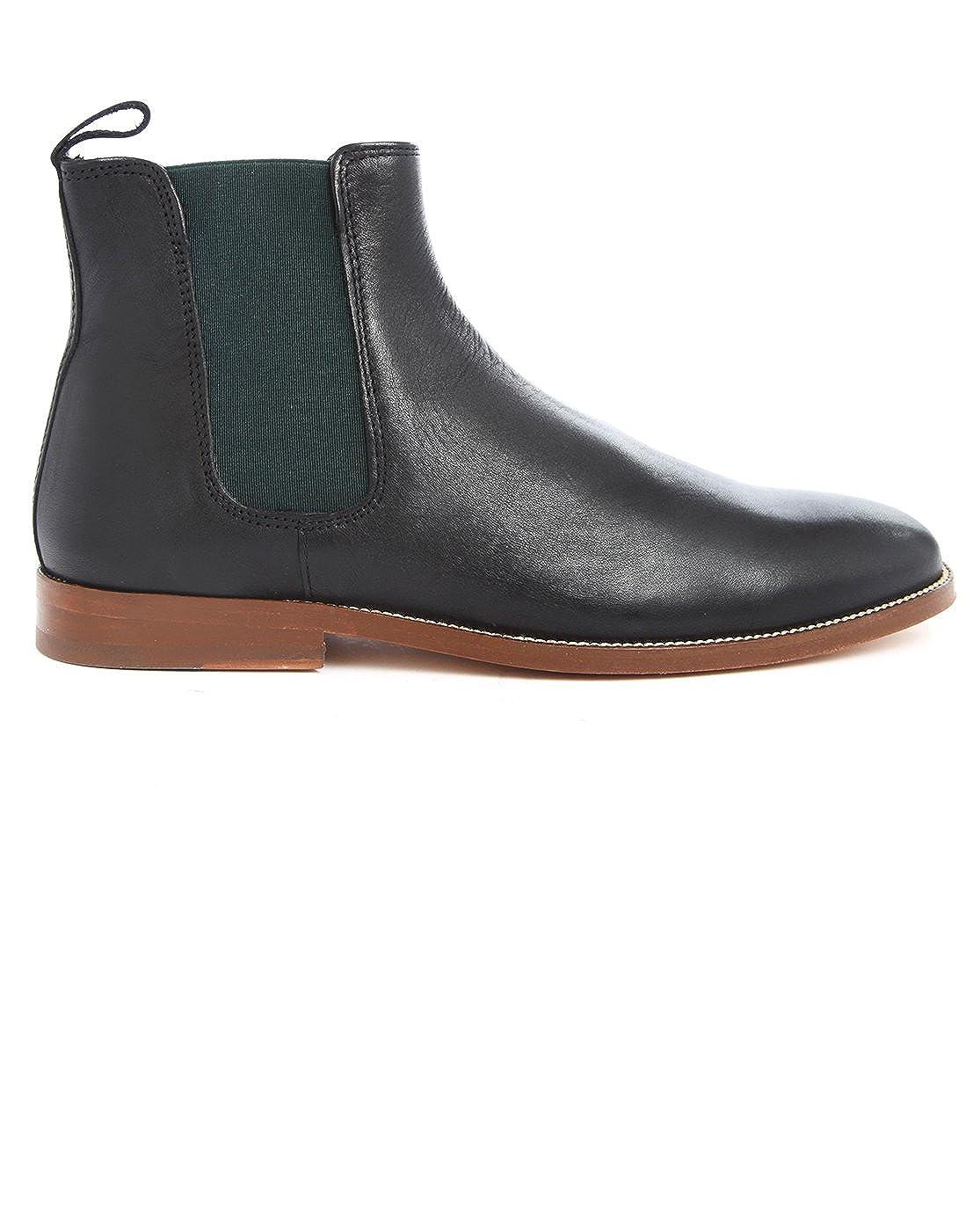 5e9f9c99a83 Bobbies - Boots - Men - Chelsea L'Horloger Black Leather Boots with ...