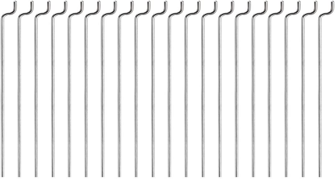 Steel Z Pull//Push Rods Parts for RC Airplane Plane Boat Replacement Pack of 20 uxcell 1mm x 80mm 3.1 Inch