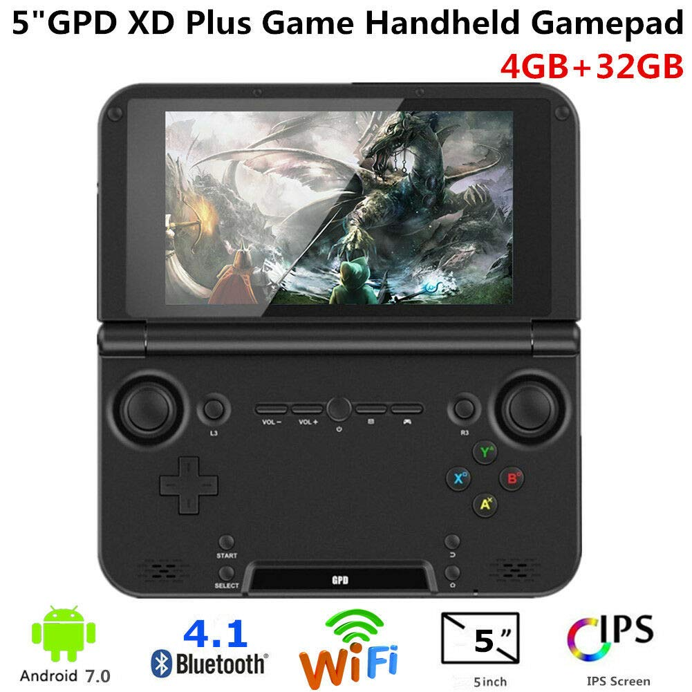 GPD XD Plus [HW Update] Android 7.0 Handheld Game Console Nougat ...