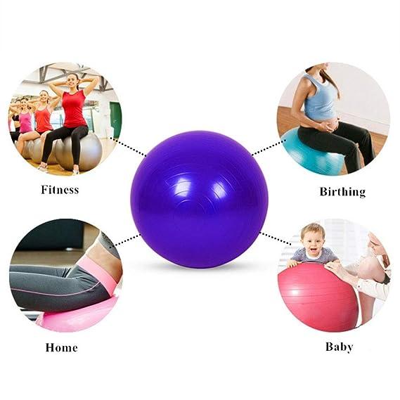 HJUN Bola de Ejercicio Yoga Tune Up Balls 95Cm para aliviar ...