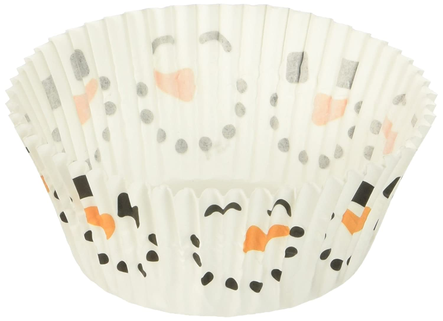 Wilton 415-1926 50-Pack Snowman Baking Cup, Standard, Multicolored