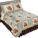 quilt rug - Pinecone Patch Woodland Bedroom Reverisble Quilt, Twin