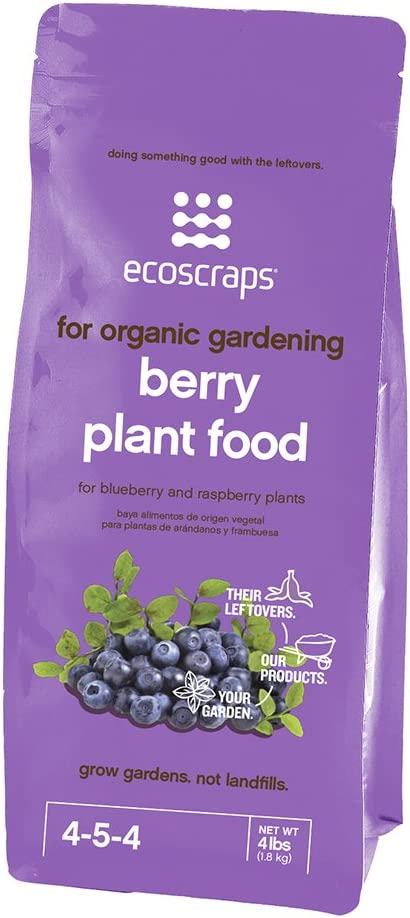 EcoScraps for Organic Gardening Berry Plant Food, 4 lbs