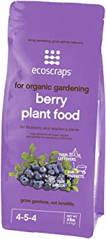 EcoScraps for Organic Gardening PFB174404 Berry Fertilizer For Fruit Trees