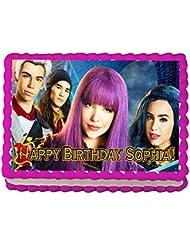 Descendants II Quarter Sheet Edible Photo Birthday Cake Topper. ~ Personalized!