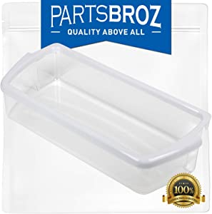 W10321304 Refrigerator Door Shelf Bin for Whirlpool Fridges by PartsBroz – Replaces WPW10321304, AP6019471, 2171046, 2171047, 2179574, 2179575, 2179607, 2179607K, 2304235, 2304235K, PS11752778