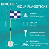 KINGTOP Golf Flags for Yard, Putting Green Pin