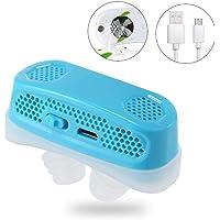 Actualización electrónica Antirronquidos Respiraderos en la Nariz Ayuda para los ronquidos Presión Positiva Continua en Las vías respiratorias PM2.5 Filtro Mini Dispositivo de Ayuda para Dormir