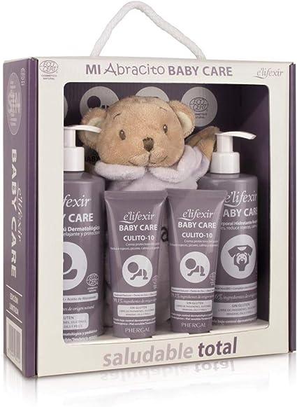 Elifexir Baby Care Cofre Mi Abracito, Gel Champú+ Culito10+ Hidratante+ Abracito: Amazon.es: Belleza