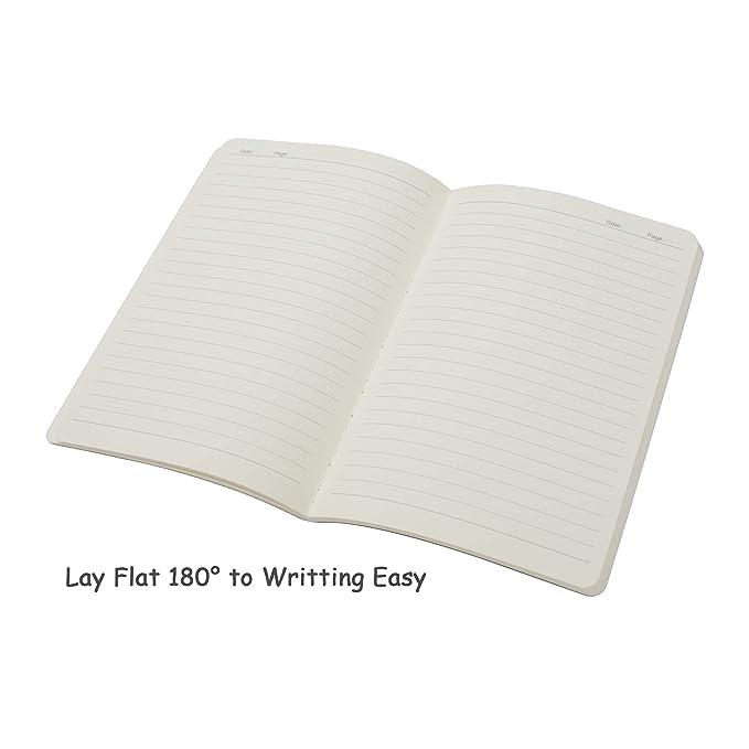 Amazon.com: Juego de diario de viaje con 3 cuadernos con ...