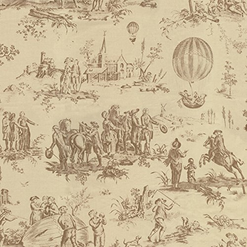 Moda French General Bon Voyage LINEN blend - Lumaire Oyster (Tan) - SOLD BY THE YARD