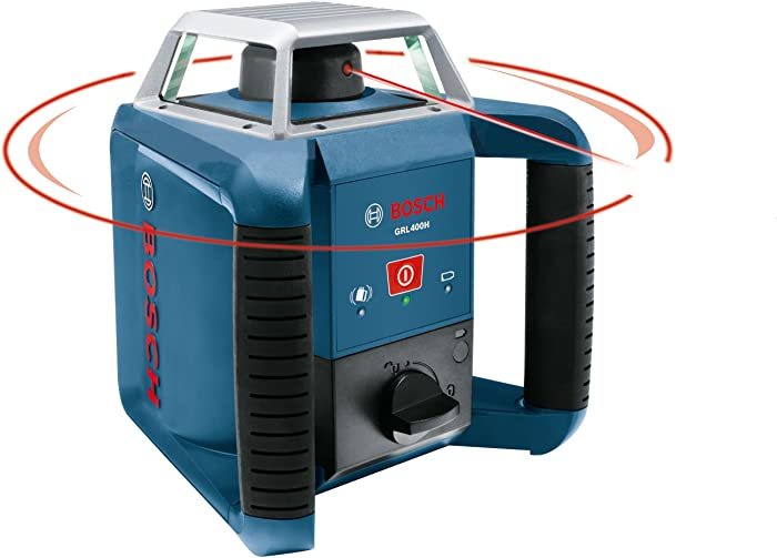Best Bosch Laser Level For Outdoor Use: Bosch GRL400H Review