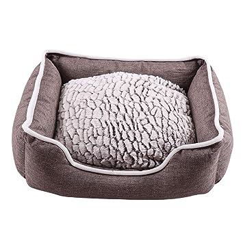 TKLTD - Cama para Perro, Resistente, extraíble, tamaño pequeño, Color Gris Claro, cómoda Almohada para Perros: Amazon.es: Productos para mascotas