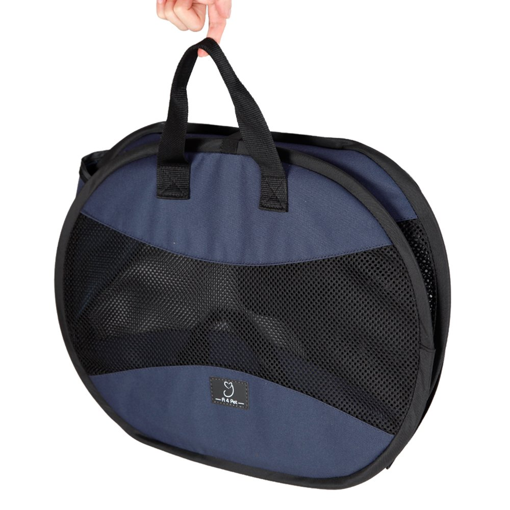 A4Pet Ultra Light, Sturdy and Collapsible Pet Carrier for Cats and Small Animals up to 20 lbs by A4Pet (Image #3)