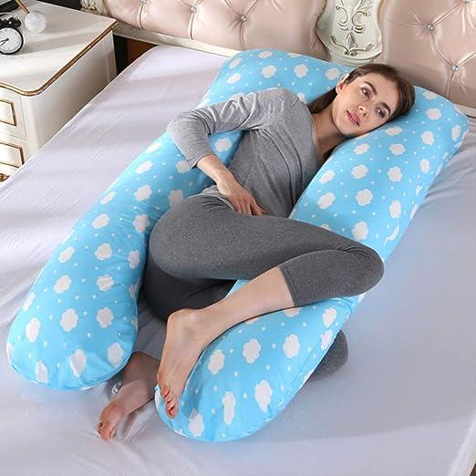 AINIYUE Almohada para el Embarazo, Almohada para Dormir ...