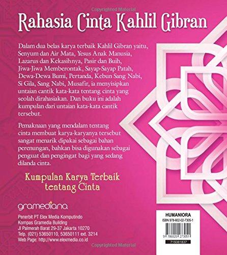 Rahasia Cinta Kahlil Gibran Indonesian Edition Kahlil