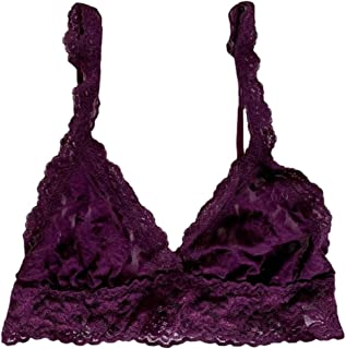 product image for Signature Lace Wire-Free Bralette Grape