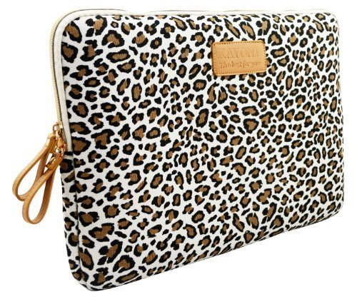 Kayond®Cute Leopard's Spots Style Canvas Fabric Ultraportab