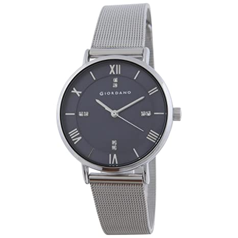 Giordano Analog Black Dial Women's Watch-A2065-11 Women at amazon
