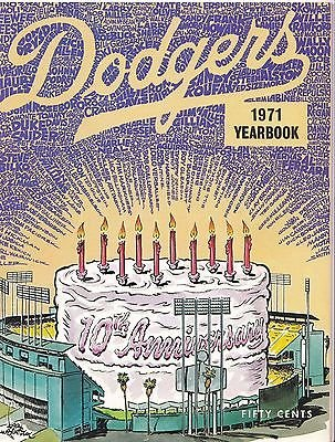 1971 Los Angeles Dodgers Yearbook