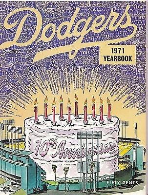 1971 Los Angeles Dodgers Yearbook