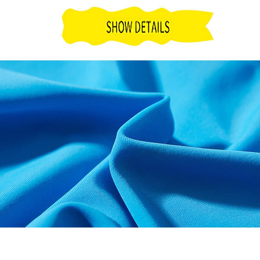 Altura 95-135cm Traje de ba/ño El/ástico con Cremallera -Rojo//Gris//Azul Traje Corto de Buceo para Ni/ños Ni/ña Manga Corta con protecci/ón SPF 50+
