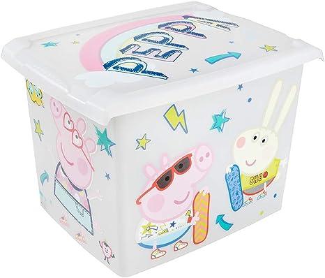 keeeper Caja de Almacenaje con Tapa Peppa Pig, 39 x 29 x 27 cm, 20 ...