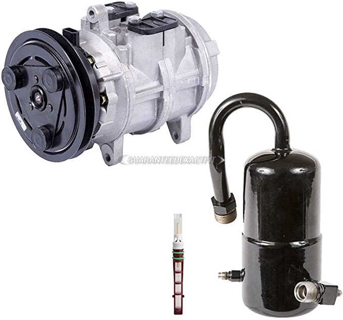 AC Compressor w// A//C Drier /& Exp For Ford F250 F350 7.3L Diesel 1988 1989