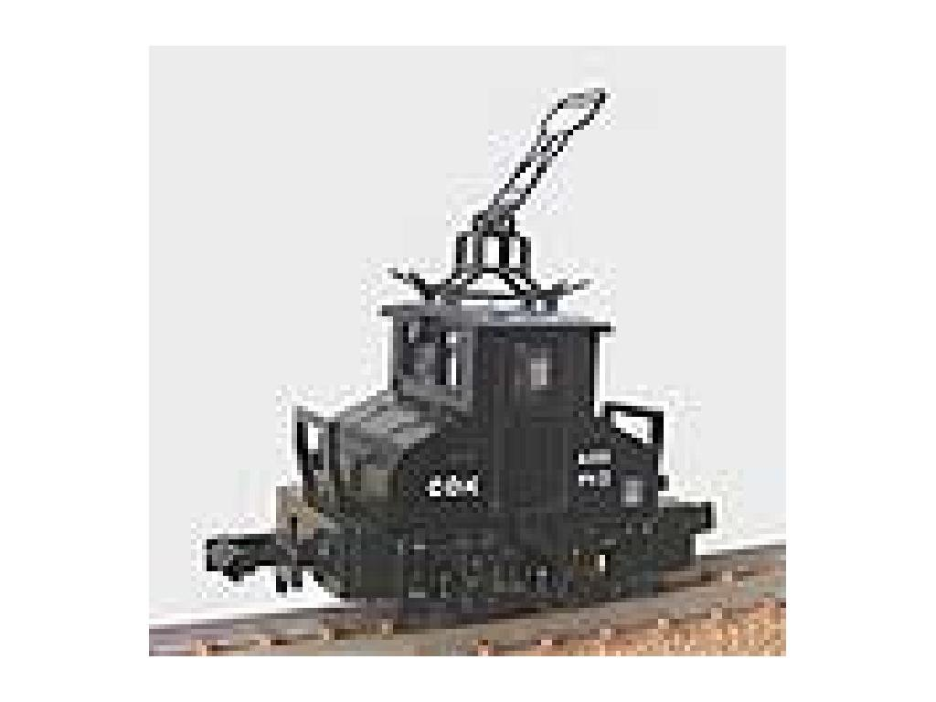 Choshi Electric Railway Deki 3 (noir) (W Motor) (Model Train)