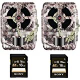 Primos 16 MP Low Glow Proof Cam 02, Swat Camo, HD Video, with 16GB Card (2-Pack)