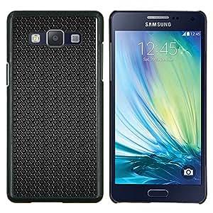 EJOOY---Cubierta de la caja de protección para la piel dura ** Samsung Galaxy A5 A5000 ** --Patrón hexagonal Negro