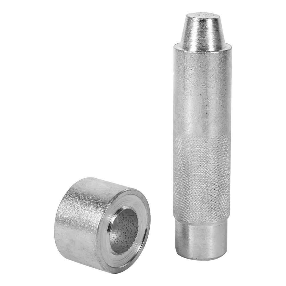 Leathercraft Tool Eyelet Hole Punch Tool Leather Craft Hole For Clothing Fabric , Sliver ( Size : 2000# )