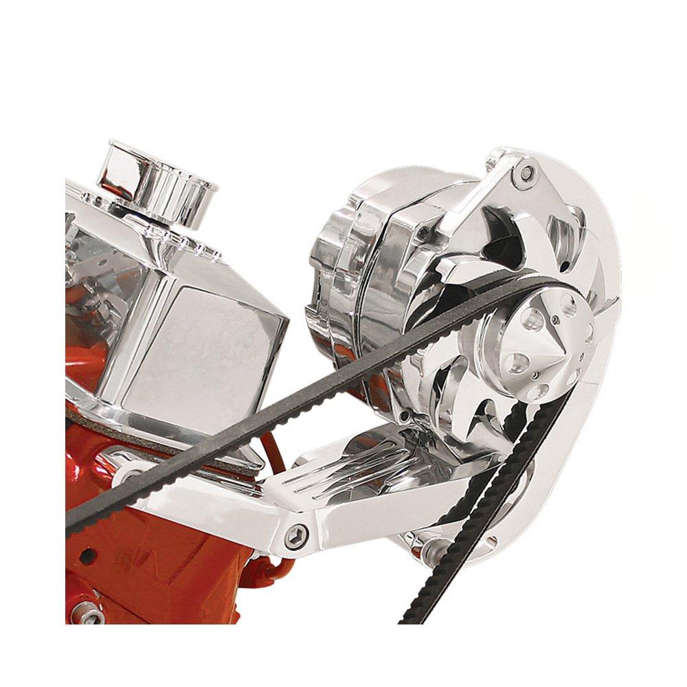 Billet Specialties 10420 Independent Driver Side Mount Alternator Bracket for Small Block Chevy by Billet Specialties (Image #1)