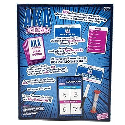 AKA (Also Known As) Wordplay Game: Toys & Games