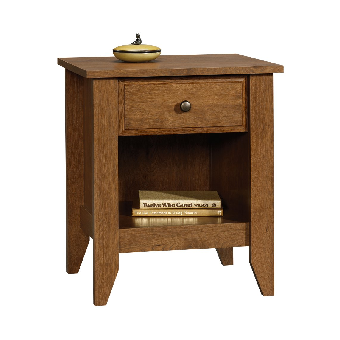 Sauder Shoal Creek Night Stand, Oiled Oak finish