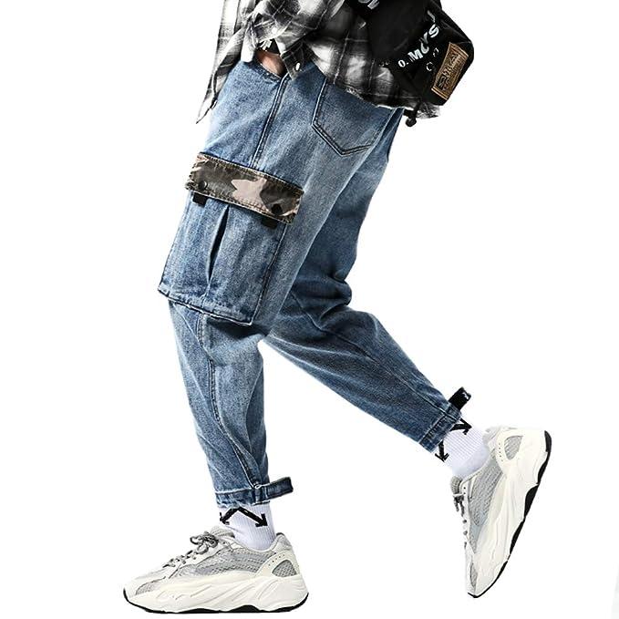 Amazon.com: Floette - Pantalones de carga para hombre ...