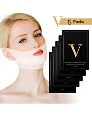 V Line Face Lifting Mask V Lifting Mask - Reduces Double Chin V Line Chin Up Firming and Moisturizing Mask (6PCS)