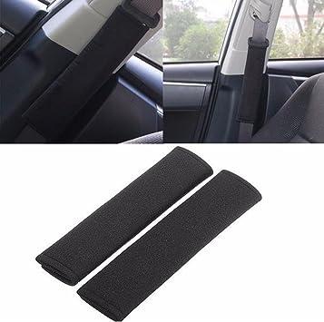 QIEP 2pcs Auto Sicherheitsgurt Gurtbezug Sicherheitsgurt Schulterpolsterabdeckungen Auto Styling F/üR Mitsubishi Lancer Gt