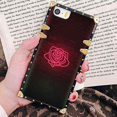 2460 Laser - Bonoma Laser Light Rose Case Cover for iPhone 5S or 5 or SE [5.5