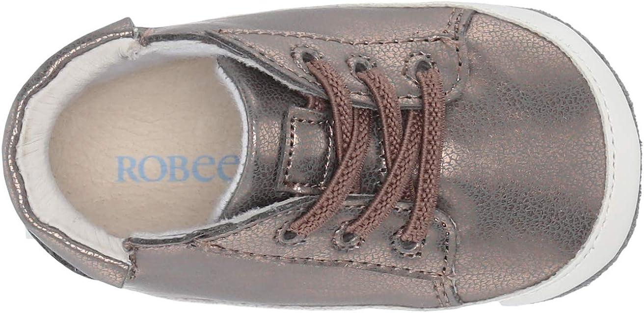 Mini Shoez Crib Shoe Robeez Baby-Girls Low Top Sneaker