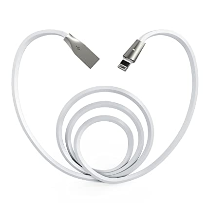 Amazon.com: aimus Cable Lightning iPhone cargador 4 ft ...