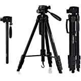 InnerTeck Tripod - 70 Inches Professional Camera Tripod Monopod with Carry Bag for SLR DSLR Canon Nikon Sony DV Video - Travel Portable Tripod