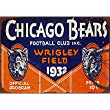 9d486059 Amazon.com: Uptell Novelty Funny Sign Chicago Bears Vintage Metal ...