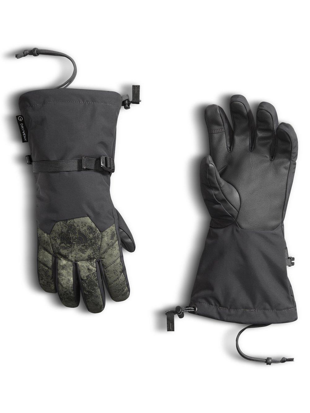 The North Face Boys' Revelstoke Etip Glove - Asphalt Grey/peat Grey Stonewash