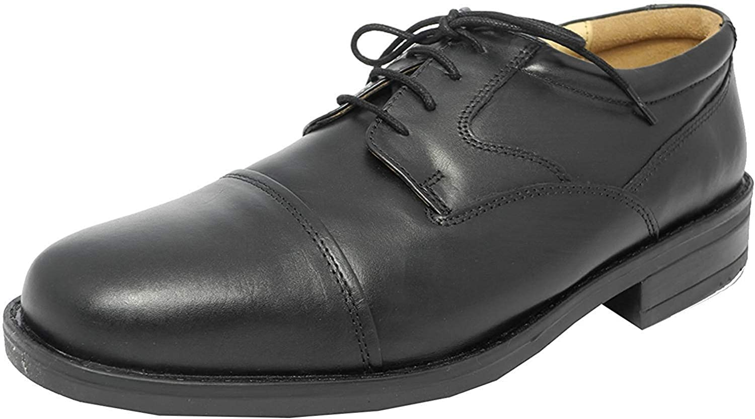 Mens Roamers Extra Wide G Fitting Black
