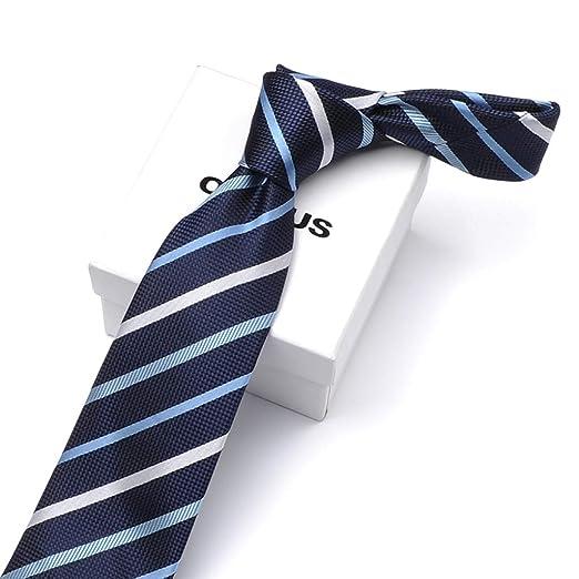 TIE LSJ Shop Corbata de Rayas, Corbata de Hombre, Corbata de Moda ...